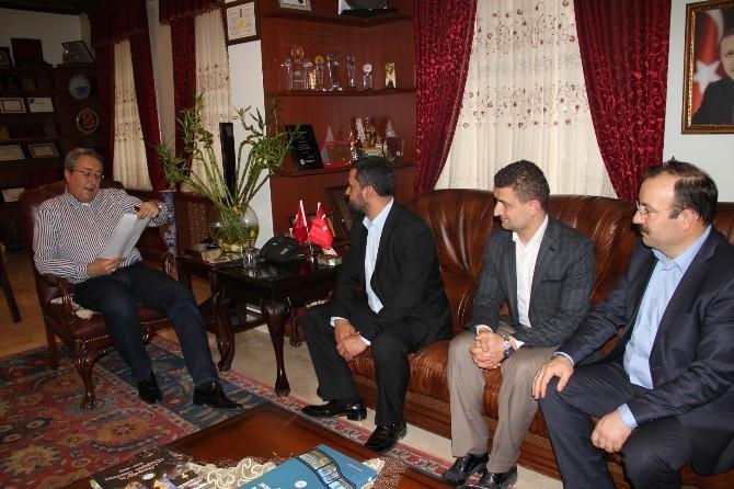 Okul Aile Birlikleri Yöneticilerinden Ünver'e Ziyaret