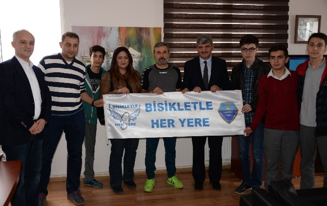 Torku Konyaspor'dan 'Bisikletle Her Yere Kampanyası'na Destek
