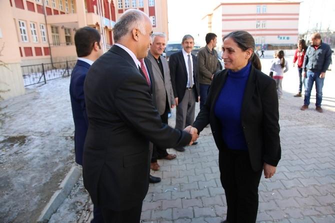 Eş Başkanlardan 'Şampiyon Öğrencilere Ziyaret