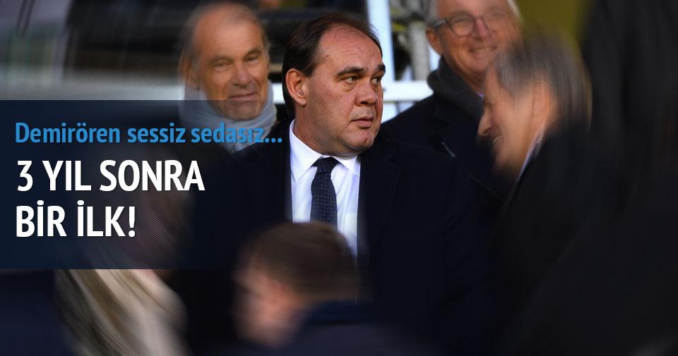 Yıldırım Demirören Beşiktaş-Club Brugge maçını stattan izledi