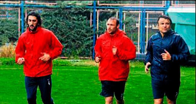 Eskişehirspor maçı hazırlığı