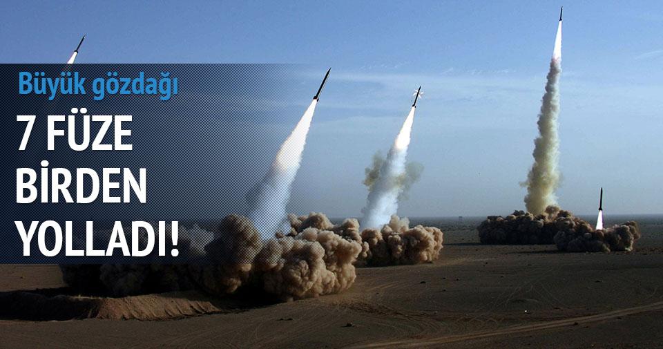 Kuzey Kore denize 7 füze gönderdi