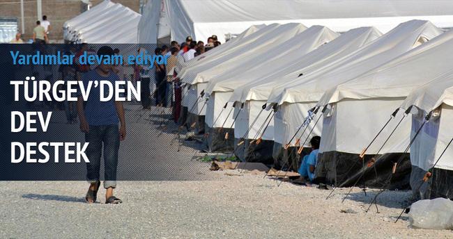Suriyeli sığınmacılara büyük destek