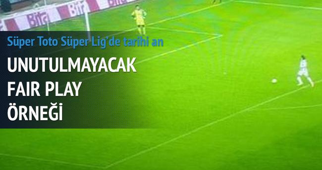Torku Konyaspor - Kasımpaşa maçında tarihi an