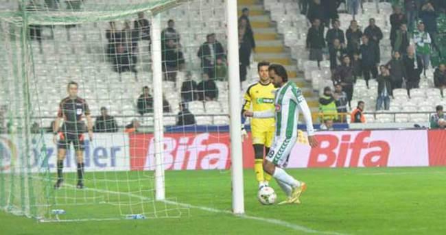 Konya - Kasımpaşa maçında bir ilk