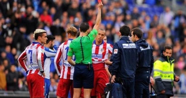 Espanyol Atletico Madrid maçı özeti ve golleri (Atletico Madrid eriyor!)