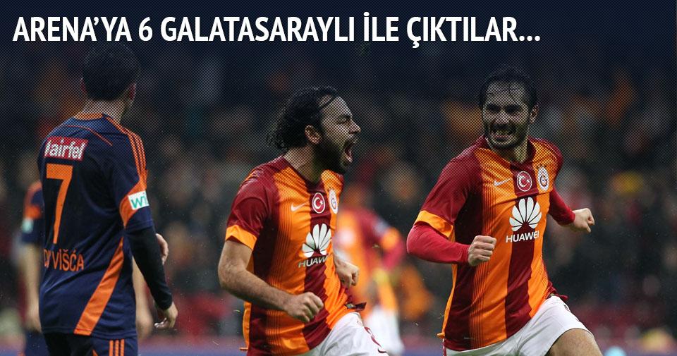 Başakşehir, Galatasaray karşısına 6 GS'li ile çıktı