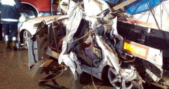 Şile'de feci kaza: 3 ölü, 1 yaralı