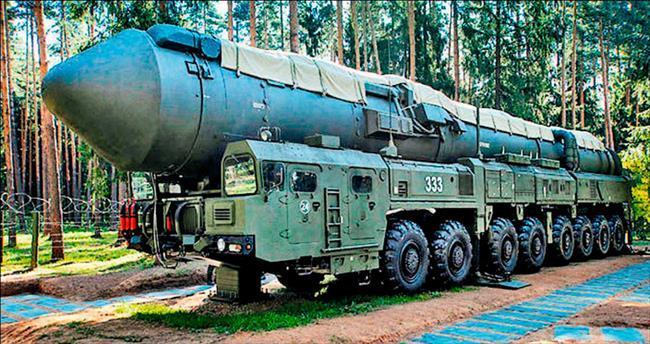 Putin'in nükleer trenleri geliyor