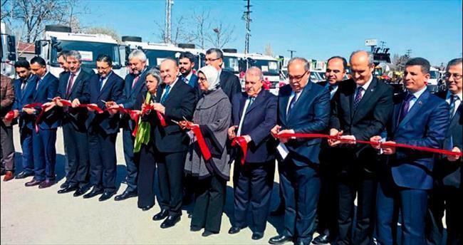 Dulkadiroğlu Belediyesi'ne Belediyeler Birliği'nden destek