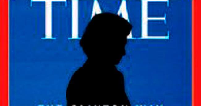 Time, Clinton'a boynuz taktı