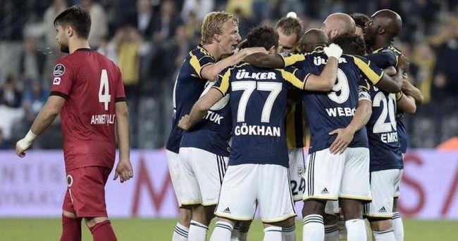 Gençlerbirliği-Fenerbahçe : 2-1