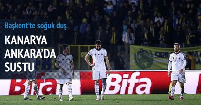 Gençlerbirliği-Fenerbahçe maçı özeti ve golleri (F.Bahçe'ye Gençler şoku)