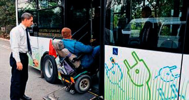 Elektrikli otobüsler için geri sayım