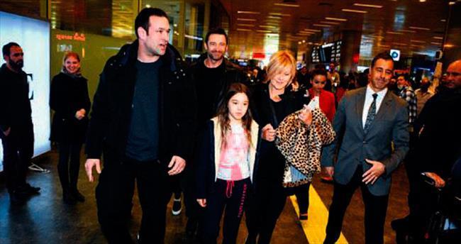 Hugh Jackman'dan 'Merhaba Türkiye'