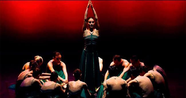 Samsun'da 'Konçerto Bach' balesi büyüledi