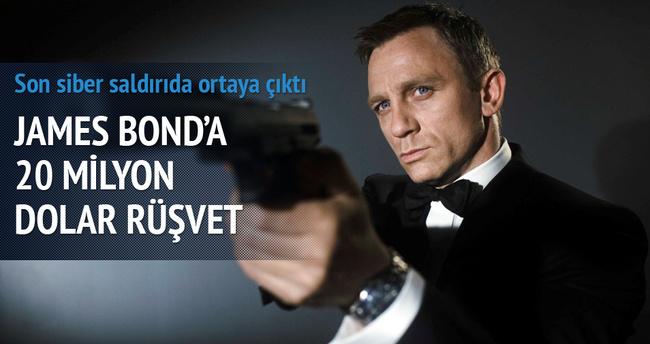 Meksika'dan Bond'a 20 milyon $ rüşvet