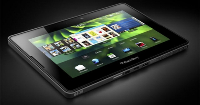 BlackBerry'den SecuTABLET