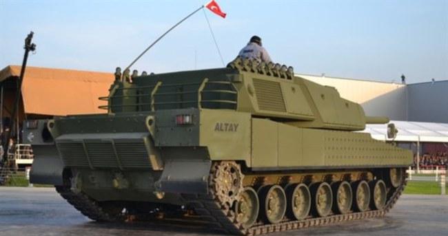 Altay tankında tarihi imza atılıyor