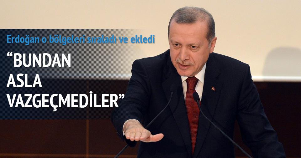 Erdoğan: Türkiye'yi Endülüs yapmak isteyenler vazgeçmediler