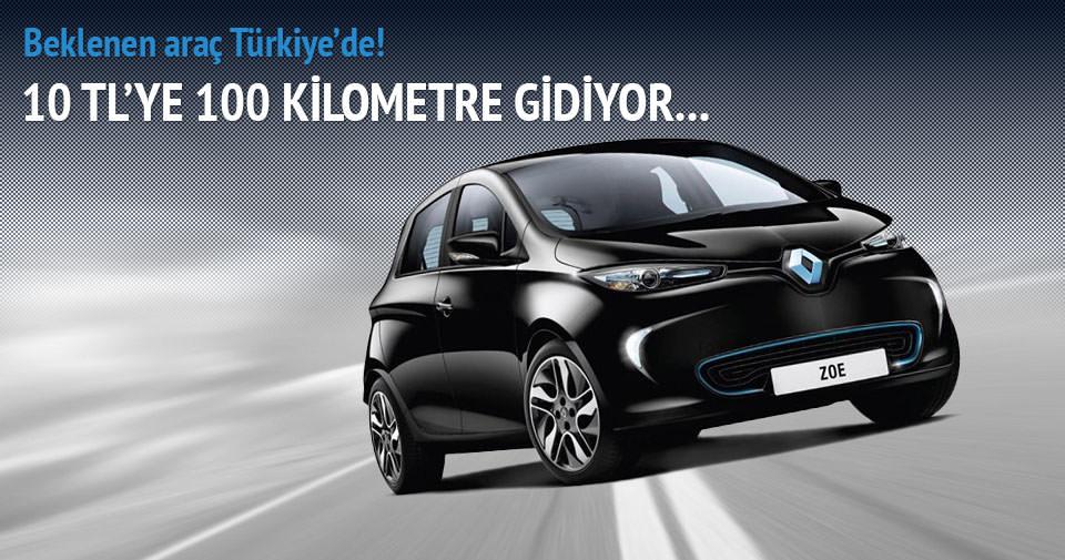 10 TL'ye 100 km giden otomobil Türkiye'de!