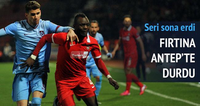 Gaziantepspor-Trabzonspor maçı özeti ve golleri (Fırtına Antep'te durdu)