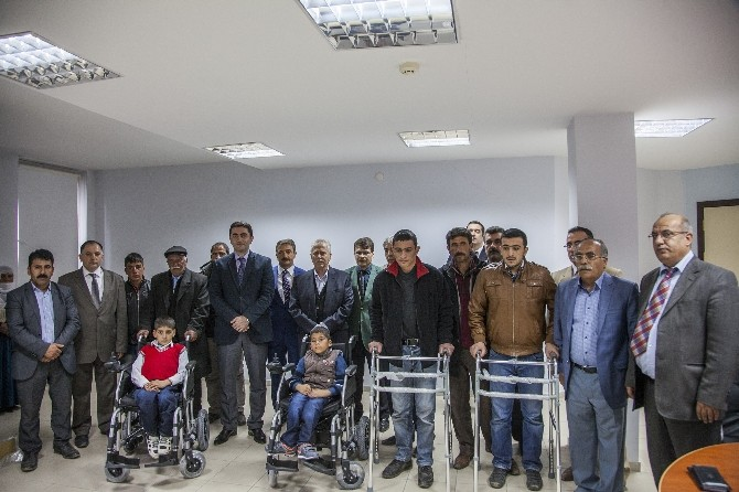 Engellileri Sevindiren Yardım