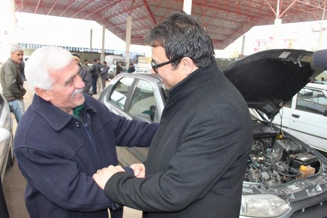 Şakır'dan Araba Pazarına Ziyaret