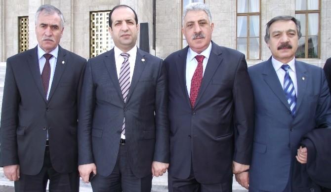 Başkan Aydemir Çiftçi'yle Bir Araya Geldi
