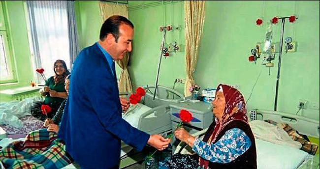 Başkan Alemdar Öztürk sağlıkçıları unutmadı