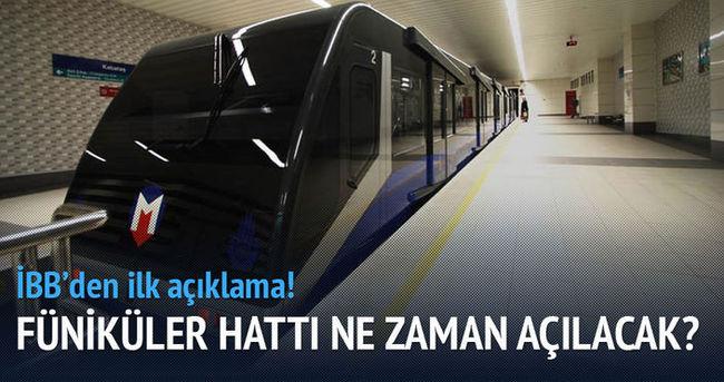 Taksim-Kabataş füniküler hattında arıza