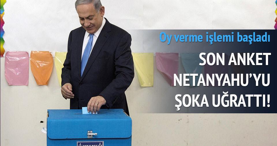 İsrail'de oy verme işlemi başladı