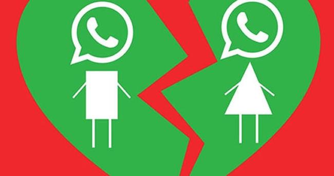 WhatsApp yüzünden boşandılar!