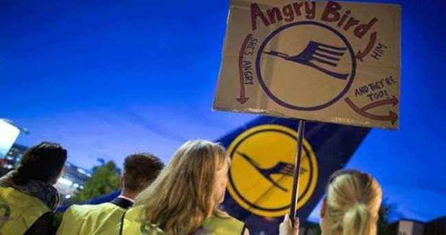 Almanya'da pilotlar greve gidiyor
