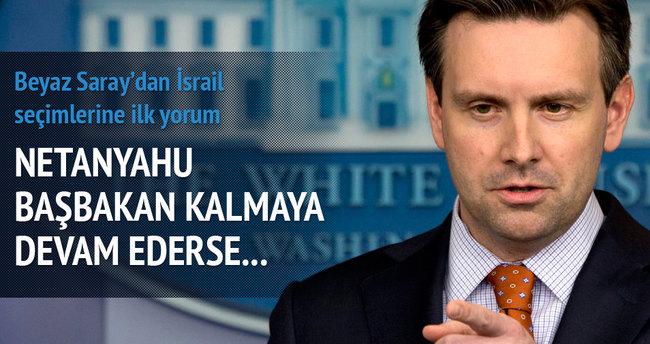 Beyaz Saray'dan İsrail seçimlerine ilk yorum