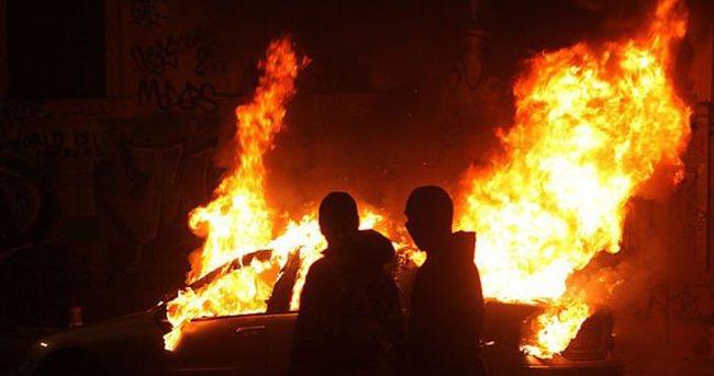 Yunanistan'da olaylı gece