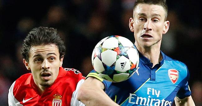 Monaco Arsenal maçı özeti ve golleri (Geniş-özet)