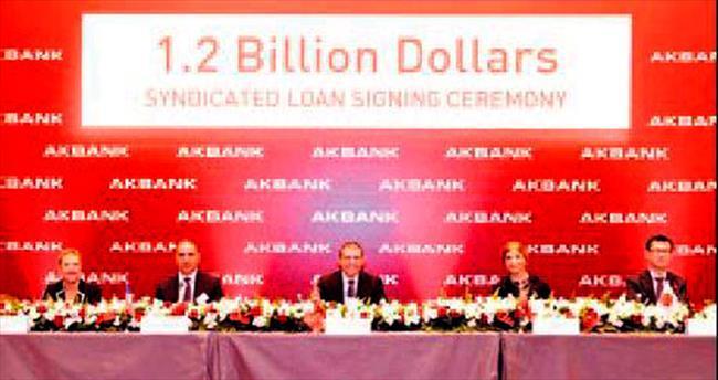 Akbank 1.2 milyar $ sendikasyon aldı