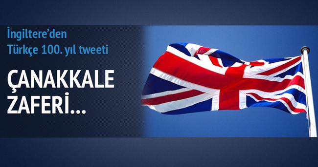 İngiliz Büyükelçi'den Çanakkale tweeti
