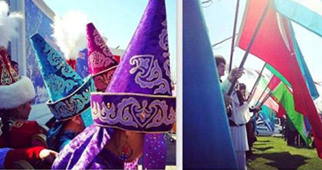 Nevruz Türk Dünyası Kültür Mahallesi'nde
