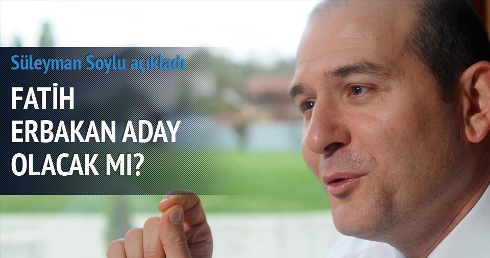 Süleyman Soylu'dan Erbakan açıklaması
