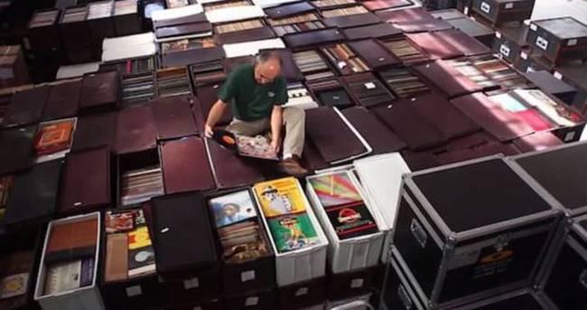 Dünyanın en büyük plak arşivi