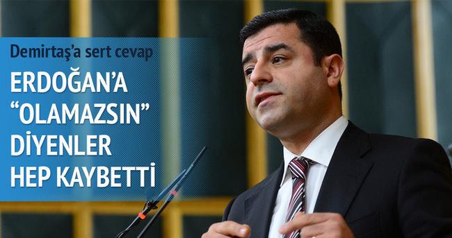 Mehmet Metiner'den Demirtaş'a cevap