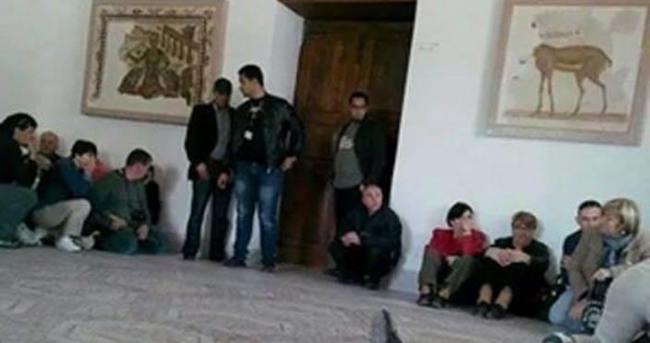 Tunus'ta rehine krizi