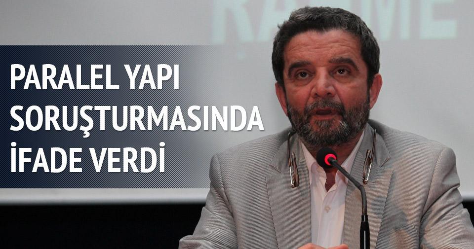 Mümtazer Türköne paralel yapı soruşturmasında ifade verdi