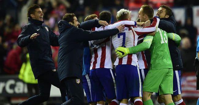 Atletico Madrid revire döndü