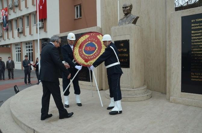 Çanakkale Zaferi'nin 100. Yılı Fatsa'da Törenlerle Kutlandı