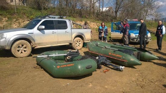 Bolu'da Kaçak Balık Avcılarına Suçüstü