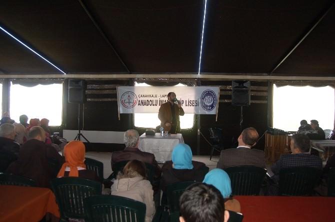 İmam Hatip Öğrencilerine Konferans