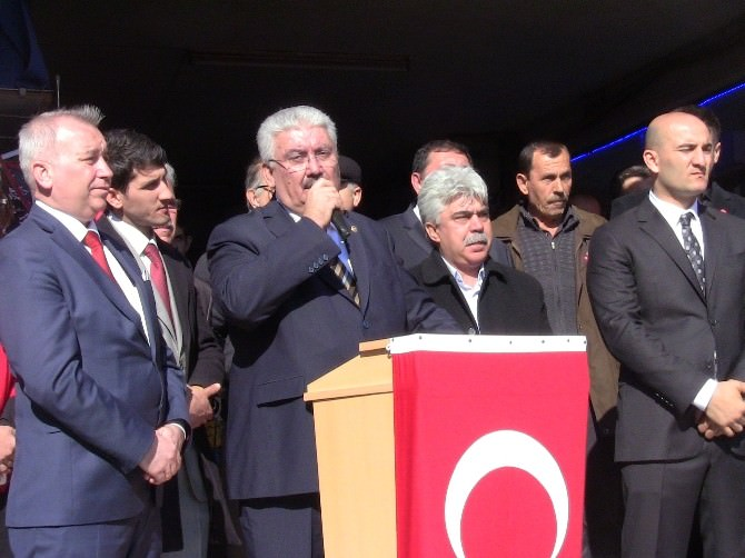 MHP Lapseki'de Zafer Mitingi Yaptı